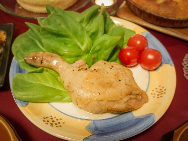 ルタオ 道産鶏レッグコンフィ
