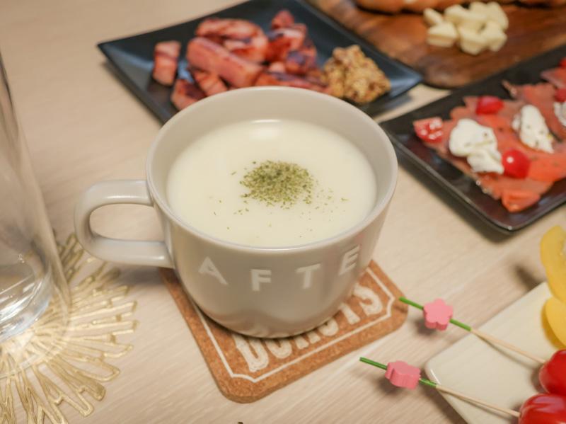 手作りビシソワーズスープ