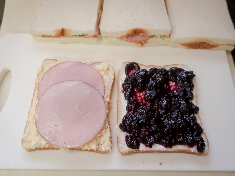 手作りサンドイッチ2