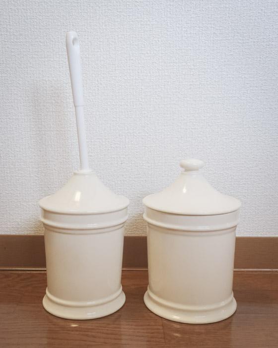 倉敷意匠計画室 ホワイトタイプ トイレブラシスタンド ¥3960