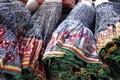 タイ少数民族モン族民族衣装巻きスカート
