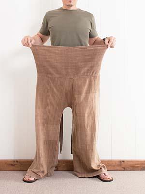 タイパンツの履き方1