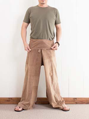 タイパンツの履き方2