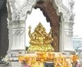 バンコク伊勢丹前ガネーシャ像