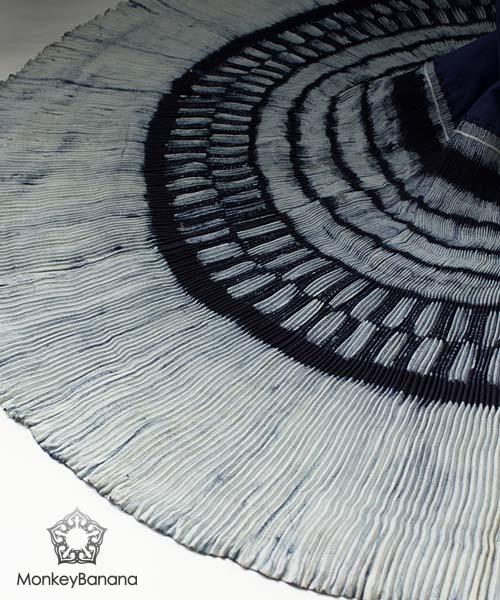 モン族/ミャオ族民族衣装巻きスカート