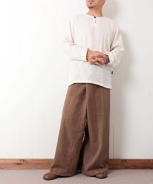 タイパンツ/漁民パンツ(草木染め)
