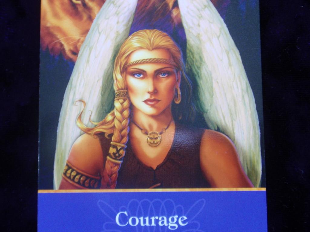 大天使オラクルカード Courage