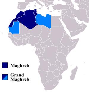 マグレブの位置