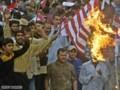 [中東]イラク反米デモ