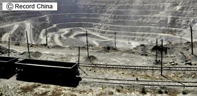 内モンゴル自治区のレアアース生産基地