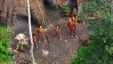 ブラジルの少数部族