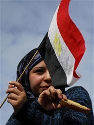 エジプト革命の女性