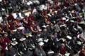 [インド]開幕した亡命チベット人総会=21日、インド北部ダラムサラ(AP)