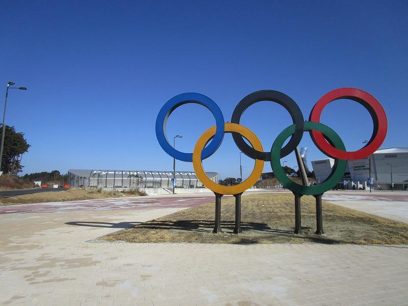 江陵オリンピックパーク内のアイスアリーナ