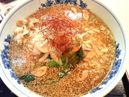 胡麻みそスタミナ麺