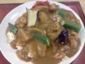 期間限定 夏野菜たっぷりカレー@堺御陵通食堂
