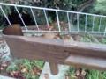 偽木のガードレール