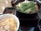 鶏担々うどん鍋(単品)+親子丼ミニ