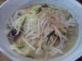 野菜たっぷりタンメン@九九龍