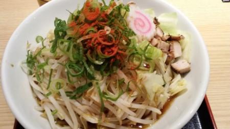 野菜たっぷりラーメン@三国ヶ丘駅ナカらーめんス・ス・ル