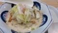 霜降り白菜とかにの豆乳クリームちゃんぽん