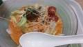 冷やしちゃんぽん【紅】担々辛味スープ@リンガーハット