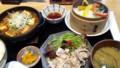 麻婆豆腐と豚の冷しゃぶ膳@膳やプラットプラット店