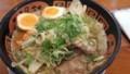 炒め野菜たっぷりラーメン 温たまトッピング@希望軒泉南店