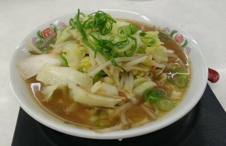 野菜煮込みラーメン@餃子の王将 長居店