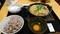 牛すき鍋定食@ごはん屋 なごみらいす