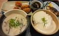 かす汁と麦とろご飯@めしや食堂堺出島店