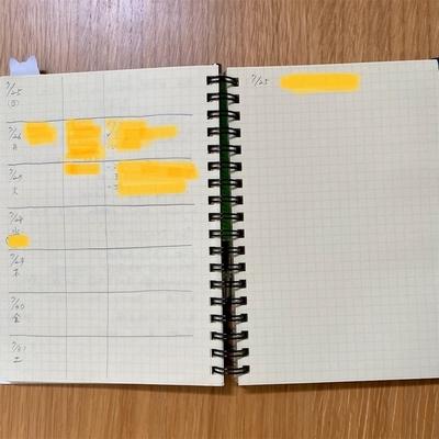 献立ノート