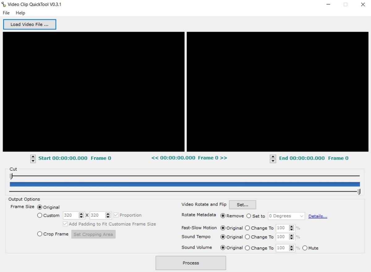 動画,クロップ,Video Clip QuickTool,