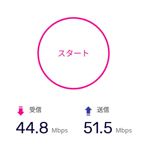 my楽天モバイル,アプリ,速度測定,スピードテスト,