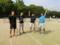 左から渕さん、近藤さん、修永さん、関さん