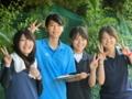 川野さん、沙恵さん、山田、北川