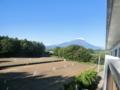 富士山とコート