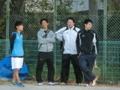 左から伊藤、関さん、工藤さん、加藤さん