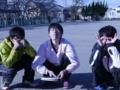 盛り上げていただいた4年生の皆さん(中村さん・寺西さん・小嶋さん