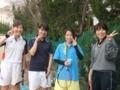試合後⑧(蔵田、本田、桂川さん、飛田さん)