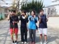 試合後⑦(久田さん、野々山さん、五味澤さん、優芽)