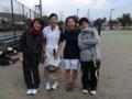 試合後②(阿武さん、蔵田、栗山、茗荷さん)