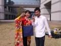 沙恵さんと小松