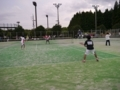試合風景⑤(手前から野津、内海)