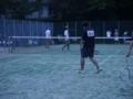 男子試合風景②(手前から北野、吉田)