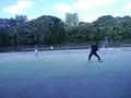 試合風景➃(手前から加藤さん、渡邉さん、青木、啓斗さん)