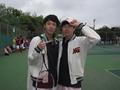 青木さん久しぶりの勝利。(左から吉田さん、青木さん)