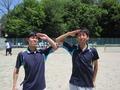 任務完了!(左から伊藤さん、北野さん)