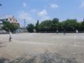 試合風景➂(手前から…杉浦さん、河口さん、皿池さん、工藤さん)