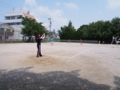 試合風景➆(手前から…中津原さん、沙恵、山田、茗荷さん)